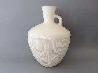 後藤義国 壺型花器(鎬)