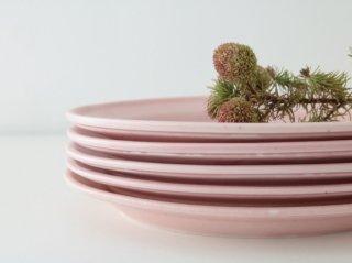 オーバル皿(S)ピンク