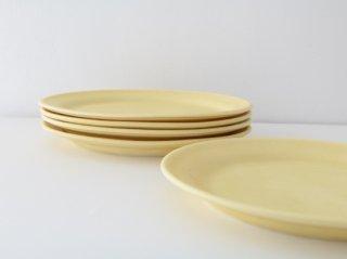 オーバル皿(S)イエロー
