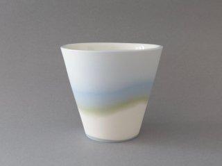 レイヤーカップ L(ブルー&グリーン)