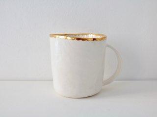 マグカップ(金彩) スカラップ