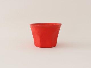 中囿義光 ロックグラス 赤