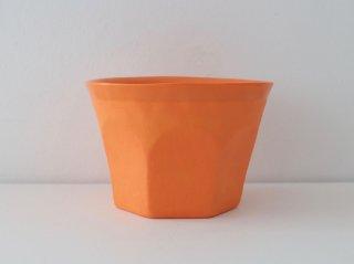 中囿義光 ロックグラス オレンジ A