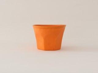 中囿義光 ロックグラス オレンジ B