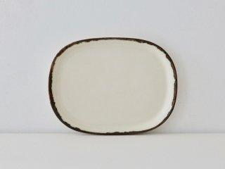 小判皿 ホワイト