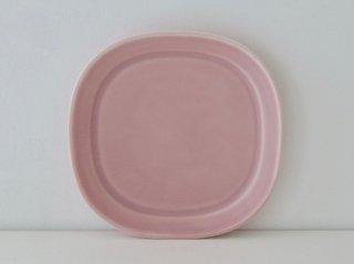 四方皿(M)ピンク B