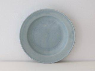 リム皿(M)ブルー B