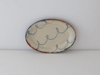 蓮見かおり オーバル皿(小) B