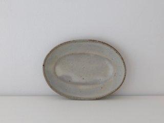 菅谷太良 オーバル皿 (小) ホワイト
