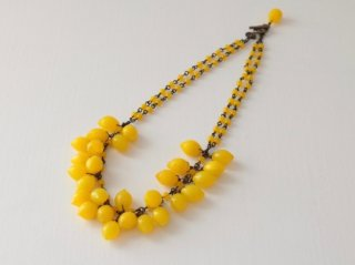 ミサキカナ レモンのネックレス
