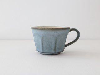 鯨井円美 コーヒーカップ ブルー