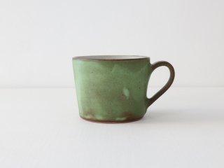 菅谷太良 コーヒーカップ グリーン