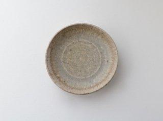 八塊柴窯工房 白陶盤(中) 1