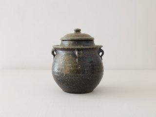 八塊柴窯工房 小小豬油罐造型糖罐 2