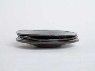 黒釉 プレート(小)