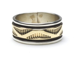 BRUCE MORGAN ブルースモーガン 14K STAMP RING THICK-WAVE