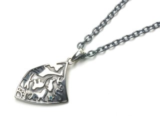 Gene Dee ジーンディ ANIMAL SHIELD PENDANT