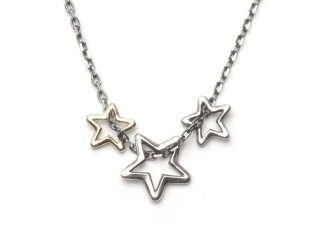 DERFIE|TRIPLE STAR NECK