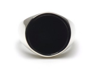 Gene Dee ジーンディ ONYX RING 15mm