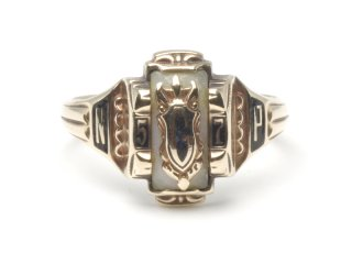 HIGH SCHOOL RING|JOSTENS|1957年|#11|K10