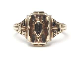 HIGH SCHOOL RING|JOSTEN|1955年|#16|K10