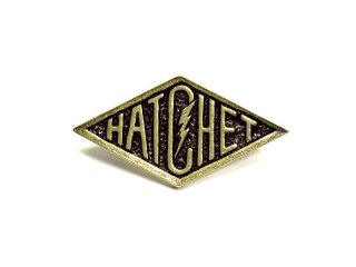 HATCHET ハチェット HATCHET LOGO Pins