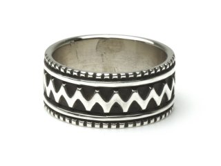 LYLE SECATERO ライルセカテロ STAMP RING (#18)