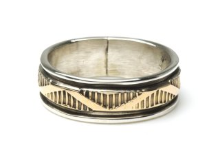 BRUCE MORGAN ブルースモーガン 14K STAMP RING THIN-WAVE