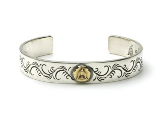 CAME ONE ケイムワン K18 METAL ARABESQUE BANGLE