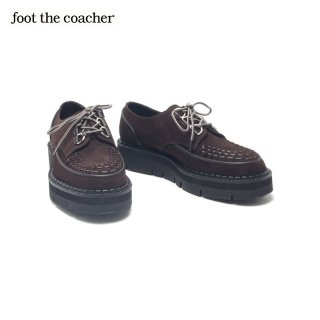 *SALE 40%off*フットザコーチャー foot the coacher CHAOS D-RING SHOES BRAIDED<img class='new_mark_img2' src='https://img.shop-pro.jp/img/new/icons20.gif' style='border:none;display:inline;margin:0px;padding:0px;width:auto;' />
