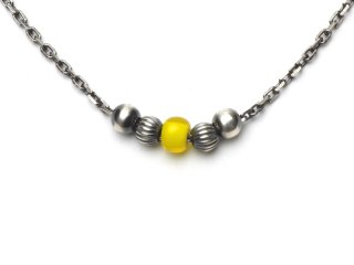 CHAIN ANKLET-YELLOW
