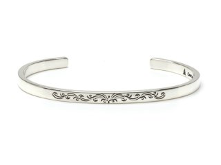CAME ONE ケイムワン CENTER ARABESQUE BANGLE-THIN