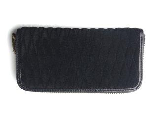 BACKDROP Leathers バックドロップ・レザーズ|ZIP WALLET-SUEDE ジップウォレット