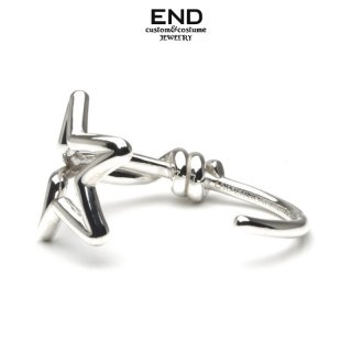 END エンド STAR KNOT CUFF