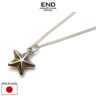 END エンド RIM STAR NECKLACE