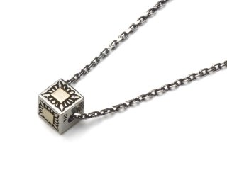 PAT BEDONIE パットべドニー 14K CUBE NECKLACE