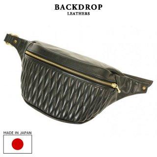 BACKDROP Leathers バックドロップ・レザーズ|DIA-WAISTBAG ダイヤウエストバッグ