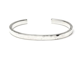 MASTERMADE-5mm FLAT WIRE BANGLE #M