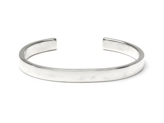 MASTERMADE-7mm FLAT WIRE BANGLE #L