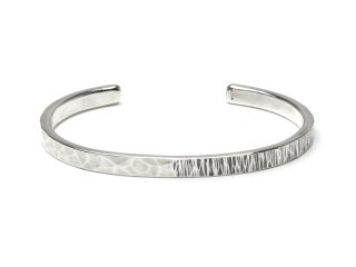 MASTERMADE-5mm FLAT WIRE BANGLE #L