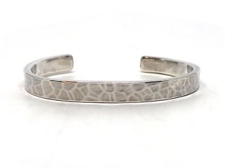 MASTERMADE-7mm FLAT WIRE BANGLE #M