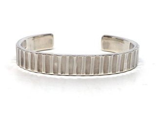 MASTERMADE-10mm FLAT WIRE BANGLE #M
