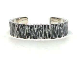 MASTERMADE-15mm FLAT WIRE BANGLE #M