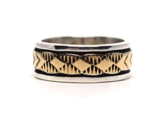 BRUCE MORGAN ブルースモーガン 14K STAMP RING THIN-DIA ARROW
