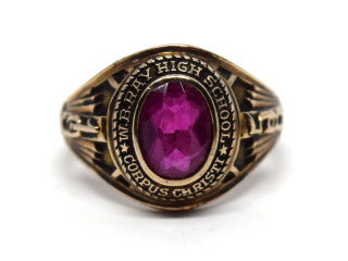 HIGH SCHOOL RING|HERFF JONES|1958年|#10|K10