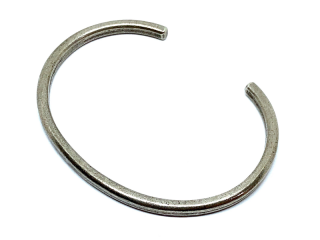 HATCHET ハチェット Lightning Stamp Bangle-SILVER