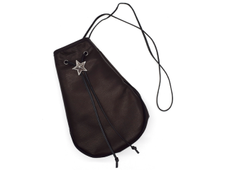 THE WONDER LUST ザワンダーラスト STAR POUCH-BLK