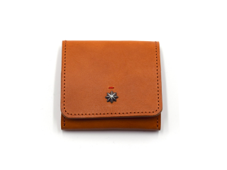 CALIFORNIA FEELING カリフォルニアフィーリング MINIMAL COIN PURSE-BROWN