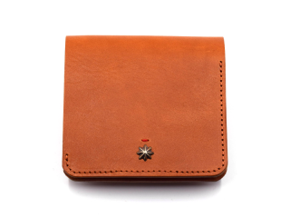CALIFORNIA FEELING カリフォルニアフィーリング SMALL MINIMAL WALLET w/coin-BROWN