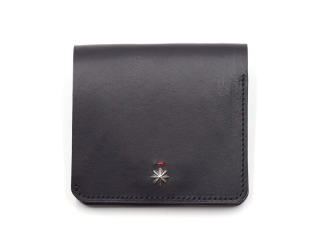 CALIFORNIA FEELING カリフォルニアフィーリング SMALL MINIMAL WALLET-BLACK